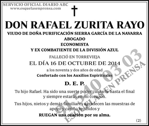 Rafael Zurita Rayo
